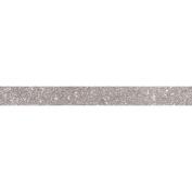 Glitter tape 5 m x 1,5 cm - silver