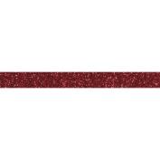 Glitter tape 5 m x 1,5 cm - red