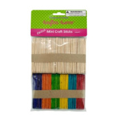Krafter Korners Kids Children Project Multi-coloured Mini Craft Sticks Pack Of 25