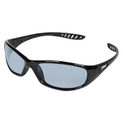 Jackson Safety V40 Hellraiser Safety Glasses (25716), Indoor / Outdoor Lens with Black Frame, 12 Pairs / Case