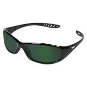 Jackson Safety V40 Hellraiser Safety Glasses (20544), IRUV Shade 3.0 Lens with Black Frame, 12 Pairs / Case