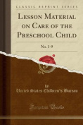 Lesson Material on Care of the Preschool Child