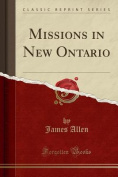 Missions in New Ontario
