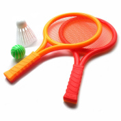 Tennis Badminton Racket Toy Set Kids with 2 Rackets
