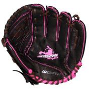 Worth Storm STM110BRP 28cm Brown Youth Girls Fastpitch Softball Glove
