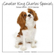 Cavalier King Charles Studio Calendar 2018