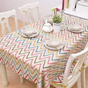 YFF@ILU home deco Rural vintage linen cotton wedding/picnic/camping/birthday party kitchen waterproof square/round table restaurant Fabric printed Table Covers Table flag tablecloth ,35*35-inch 88*88cm