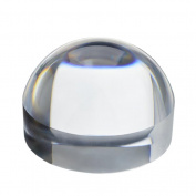 KINGMAS 65mm Crystal Clear Paperweight 10X Dome Magnifier Reading Aid