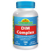 DIM Complex 100 mg 120 Capsules by Nova Nutritions