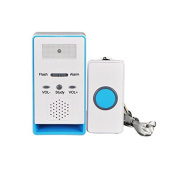 WAYCOM One Remote 1 Call Button Wireless Caregiver Personal Pager Nurse Call Alert - 180m Range