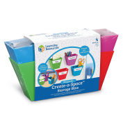 Learning Resources Magnetic Create-a-Space Storage Boxes
