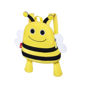 BINGONE Kids Cartoon Backpack Nursery Pre-school Travel Outdoor Yellow Bee 1~3 Years Old Boys and Girls
