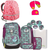 ergobag Backpack turquoise Türkis Lila