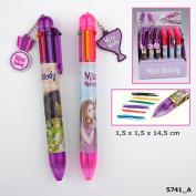 Depesche 005741 Miss Melody 6farb. Ballpoint Pen