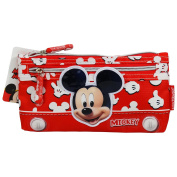 Disney Mickey Mouse Funny Happy Stationery Set bag For School