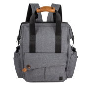 ALLCAMP nappy bag Large capacity Pockets in pockets ,support any baby stroller with changing pad