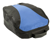 Izzo Golf Water Resistant Shoe Bag with Mesh Side Panels and Inner Pockets for Spare Spikes and Spike Tools