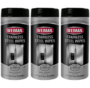 3-pack Weiman Stainless Steel Wipes,
