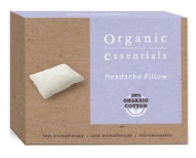Organic Essentials Headache Pillow Hot and Cold Lavender Aromatherpy