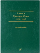 Littleton 1959-1998 Lincoln Memorial Cent Folder by Littleton