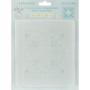 Lea'bilities Embossing Folder, Curlicue