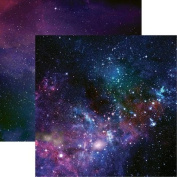 Out of This World - Outer Space - 12x12 Scrapbook Paper by Reminisce - 5 Sheets