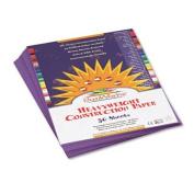 Construction Paper, 26kg., 9 x 12, Violet, 50 Sheets/Pack, Sold as 50 Sheet