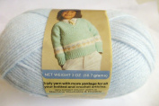Baby Blue Natura Sport and Baby Sayelle Knitting and Crochet Yarn