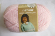 Baby Pink Natura Sport and Baby Sayelle Knitting and Crochet Yarn