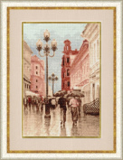 Cross Stitch Kit Arbat Madeira threads