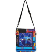 Whiskered Cats - Crossbody 33cm x 36cm