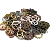 Gears Charms -100Pcs