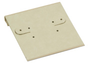 Hanging Earring Card - Parchment Paper 2x2