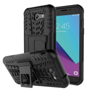 J3 Emerge Case, Galaxy J3 2017 Case, NOKEA [Drop Protection] [Shock Absorption] And Kickstand with Shockproof and Anti-Scratch and Non-Slip Case For Samsung Galaxy J3 2017 / J3 Emerge