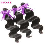 iVogue Hair Unprocessed Brazilian Virgin Hair Body Wave 3 Bundles Virgin Human Hair Extensions Natural Colour (100+/-5g)/pc 3pcs/Lot