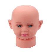 Wig Head, RIUDA Baby Mannequins Head Display Hat Wig Mould Show Stand Model Cosmetology