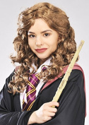 Womens Hermione Granger Style Brown Curly Wig