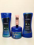 "Mystic Hair BOTOX 3 Step Kit (Shampoo-Conditioner-Deep Treatment) ""Free Starry Sexy Kiss Lip Plumping 10 Ml"""