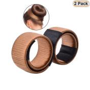 Hisight 2pcs Fashion Hair Styling Disc Hair Tool, The noble of hair DIY Synthetic Hair Tool