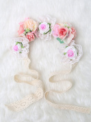 Be gorgeous flowers headband /Rose Crown/Bohemian style