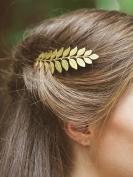 Bridalvenus Bridal Hair Combs, Wedding Gold Leaf Hair Comb for Bride and Bridesmaid