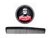 Uppercut Deluxe Monster Hold Hair Pomade for Men 70ml with BraidZ Comb.