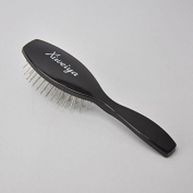 Xiweiya Abody Hair Scalp Massage Comb Hairbrush Steel Sawtooth Women Wet Curly Detangle Hair Brush for Salon Hairdressing Styling Tools +1 Pc Wig Cap