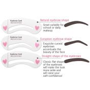 BIOAQUA Brow Class Eyebrow Card Modelling Makeup Pencil Brush 3 Forms