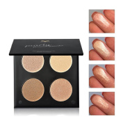 Fullkang New 4 Colour Matte Eyeshadow Makeup Eye Shadow Palette