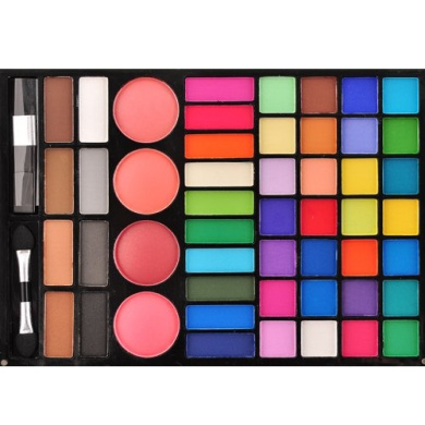 Profusion Makeup Pallette 42 Mega Pigmented Shadows 4 Top Blushes & 4 Eyebrow Shadow