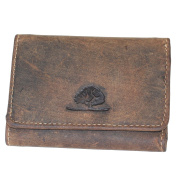 Green Burry 1793 - 25 Vintage Small   Leather Purse   Handmade
