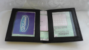 AKSHIDE Leather Style Driving Licence Holder/Driving Licence Cover/Wallet/Protector