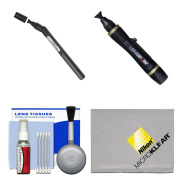 Lenspen SensorKlear II SENSOR Cleaning Pen with Kit for Nikon D3200, D3300, D5200, D5300, D7000, D7100, D610, D800, D810, D4s DSLR Cameras