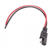 Battery Tender SAE DC Power Automotive DIY Connector Cable 2x0.75mm Redand Black
